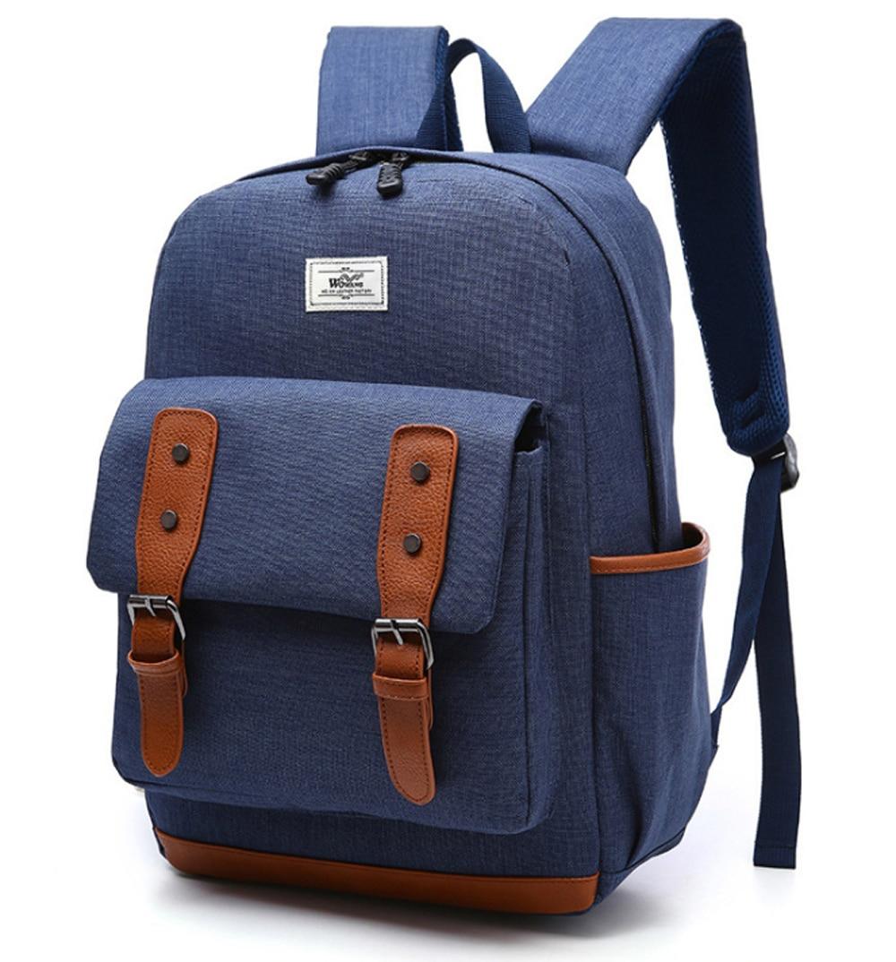 14 15 15.6 Inch Waterproof Nylon Laptop Notebook Backpack Bags Case School Backpack for Macbook Pro 15 Men Women Student