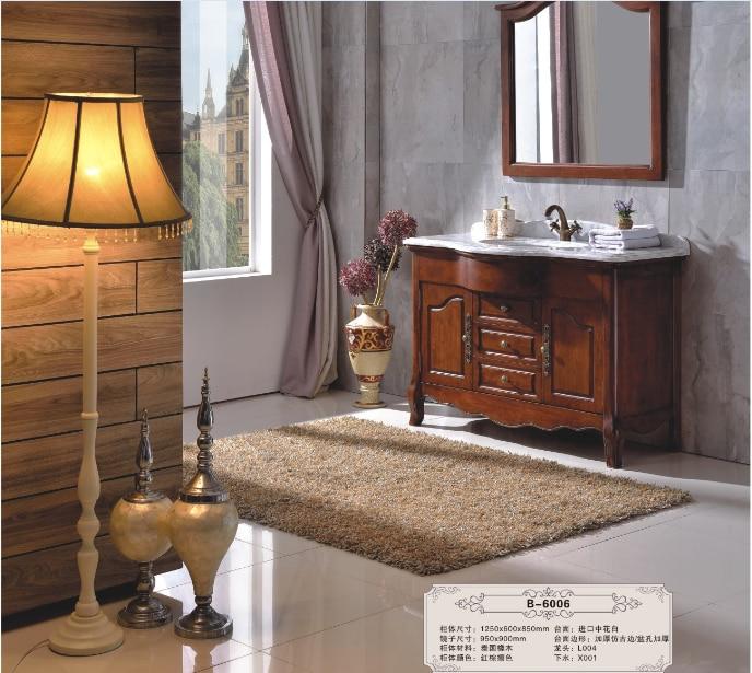 US $938.0 |Badezimmer schrank bad eitelkeit klassische waschbecken  arbeitsplatte badezimmer schränke B6006 auf AliExpress