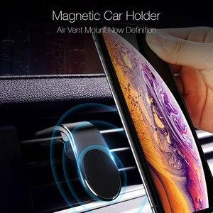 Image 3 - Suntaiho support de téléphone de voiture magnétique L forme évent support de montage pour iPhone X 7 8 Samsung S9 voiture aimant GPS support de téléphone portable