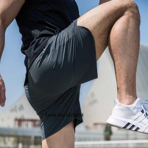 Image 4 - Xiaomi short de secagem rápida masculino, casual, reflexivo, seda, sem fettered, fitness, para corrida