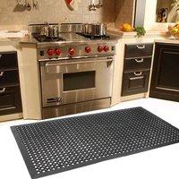 Anti Slip Mat Anti Fatigue Heavy Duty Rubber Floor Mats for Kitchen Accesories Garden Bar Restaurant Rubber Floor Mat US Stock