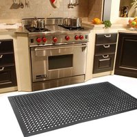Anti Slip Mat Anti Fatigue Heavy Duty Rubber Floor Mats for Kitchen Accesories Garden Bar Restaurant Rubber Floor Mat US Stock