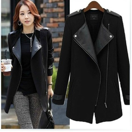 HOT SALE!2016 women autumn winter fashion Cashmere cardigan coat medium-long female outerwear Plus size European style new