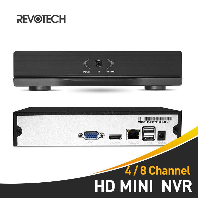 4 8 Channel H 264 Mini HD 1080P NVR Network Video Recorder HDMI 4 8 CH