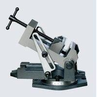 Промышленные Угол Тиски ZX100 механические тиски 4 дюйма
