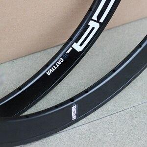 """Image 5 - DECA 20"""" 1 1/8"""" Alloy Rim 22"""" 451 406 20H 24H for Minivelo Mini Velo Folding Bike V  Caliper Disc Brake Rims Seemless Weld"""