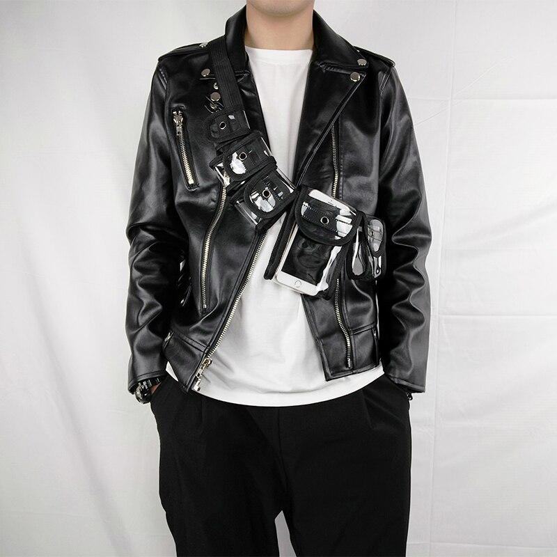 2019 Design PVC Transparent Fanny Pack Men Holographic Waist Bag Fashion Female Travel Chest Phone Pouch Belt Bag Waist Packs