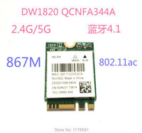 Atheros QCNFA344A DW1820 802.11ac Bluetooth 4.1 867Mbps BCM94350ZAE M2 NGFF WiFi Wireless Card better than BCM94352Z