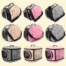Переноска для домашних животных, для собак, кошек, складная клетка, складная сумка для ящиков, пластиковая сумка для переноски, товары для домашних животных, сумка для транспортировки