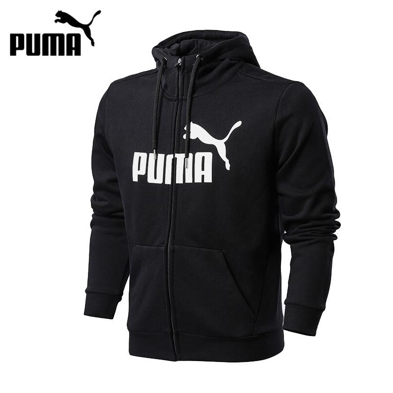Original New Arrival 2017 PUMA 4ESS No.1 FZ Hoody Men's jacket Hooded Sportswear толстовка женская puma urban sports fz hoody цвет темно зеленый 59404414 размер m 44 46