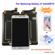 Original display LCD touch screen for Samsung Galaxy J7 max/G615 AAA+ Quality Replacement LCD Digitizer+Touch Screen Assembly