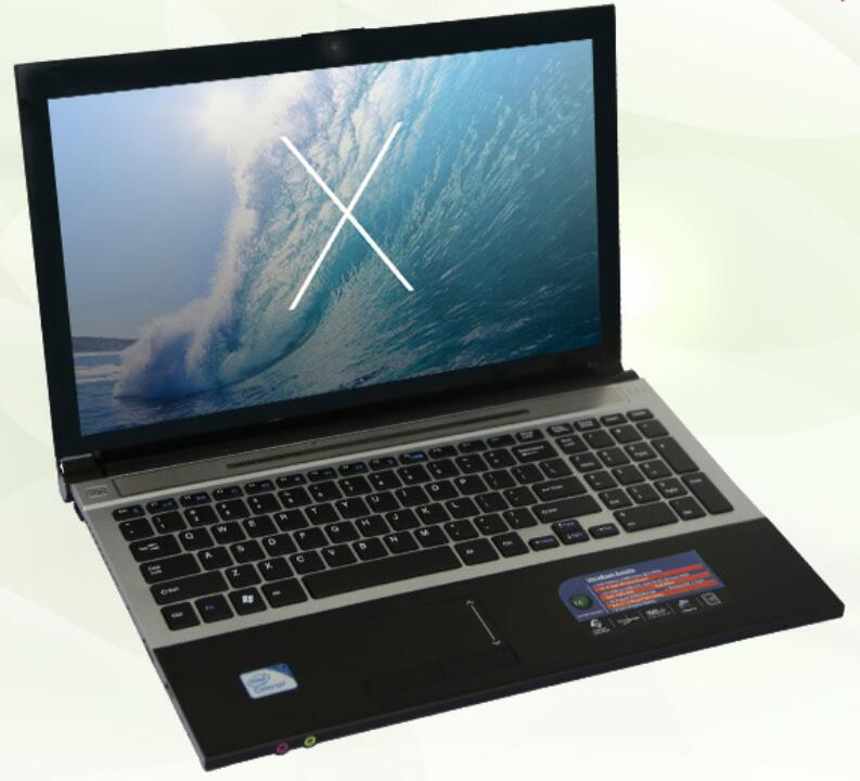 8 г DDR3 + 750 ГБ HDD игровой ноутбук 15.6 дюйма Intel Pentium n3520 quad-core Оконные рамы 10 Тетрадь компьютер встроенный WI-FI Bluetooth DVD-RW ...