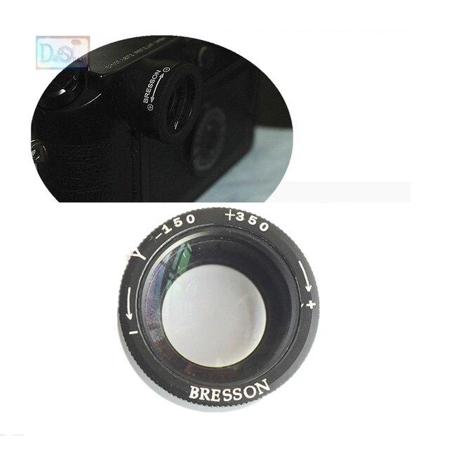 1.1 1.6X Zoeker Vergrootglas Vergrootglas Oculair Oogschelp Verstelbare Zoom Dioptrie voor Leica M8 M8.2 M9 M9 P M E M240