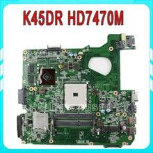 for ASUS A45D A45DR K45D K45DR R400D R400DR motherboard AMD Radeon HD 7470M 1 GB 216-0809000 fully tested & working perfect