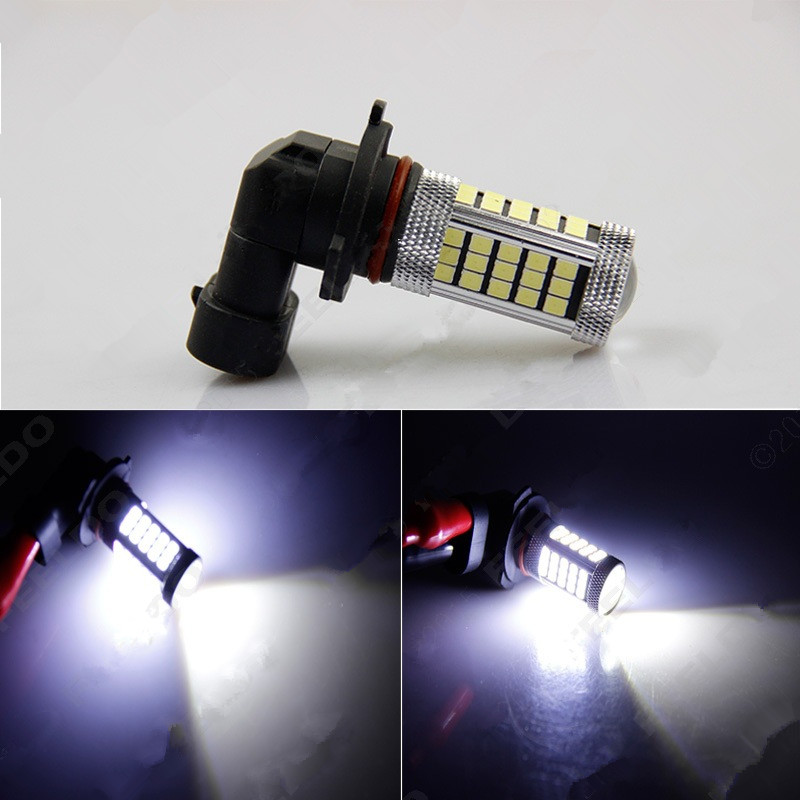 66 SMD LED 9005 HB3 P20d Tail Lamp Car SMD Front DRL Bulb Auto Driving Fog Daytime Running Light