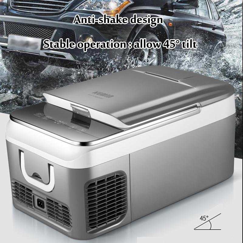 18L Car Refrigerator Freezer Cooler Car Fridge Compressor for Car Home Picnic Refrigeration Freezer 20~10 Degrees DC 12V 240V
