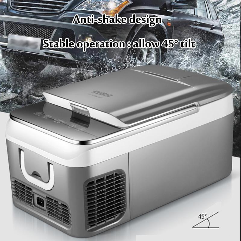 18L voiture réfrigérateur congélateur refroidisseur voiture réfrigérateur compresseur pour voiture maison pique-nique réfrigération congélateur-20 ~ 10 degrés DC 12 V 240 V