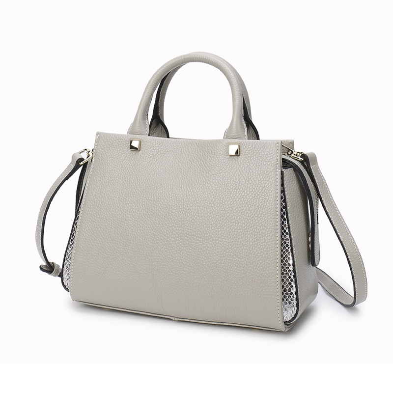 Genuine Leather Luxury Tote Handbag Design for Women New Fashion Female Crossbody Shoulder Bags Famous Messenger Bag sac a main barhee new stone pattern pu leather women messenger bag crossbody shoulder bags for girls luxury design alligator handbag female
