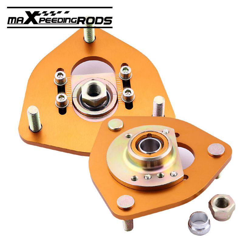 for Nissan S13 S14 S15 180SX 200SX 240SX Front Coilover Camber Plate Top Mount