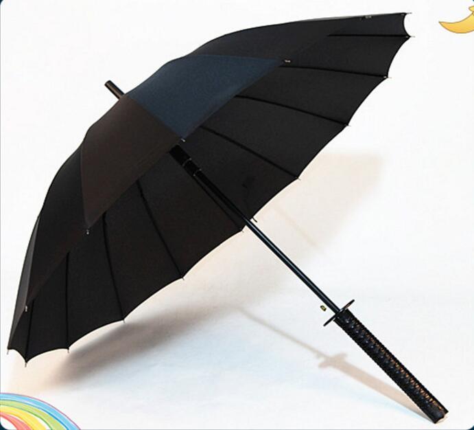 Yeni Sərin Samuray Qılınc Tutacaq Parapluie Yağışlı və - Ev əşyaları - Fotoqrafiya 4