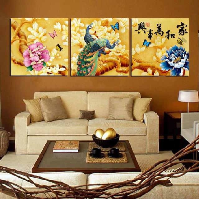 3 pieces Unframed Wall Art Picture Gift Home Decoration Canvas Print ...