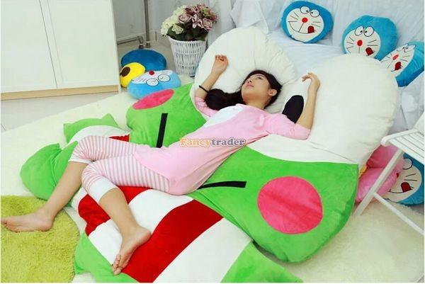 Fancytrader  180cm X 165cm Soft Funny Giant Big eye Frog Bed Carpet Tatami Sofa, FT50317 (7)