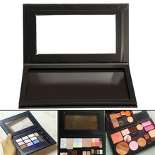 Large Empty Magnet Makeup Box Portable DIY Eyeshadow Concealer Blush Blank Cosmetic Palette For Beauty Makeup Tools