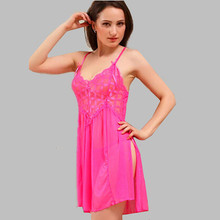 2016 Summer Sexy Sleepshirt Sleeveless Short Nightgown Female Sleepwear Nightgowns Dressing Gowns For Women Black/Yellow E0359