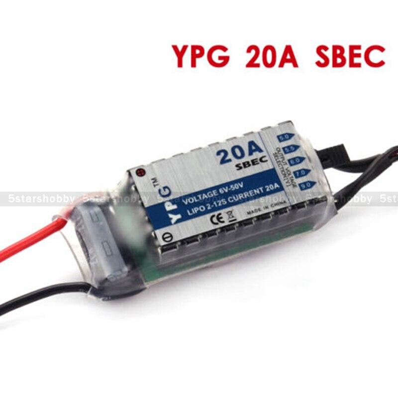 YPG 20A HV SBEC Hohe Qualität Für RC modell flugzeug Keine programmierung erforderlich