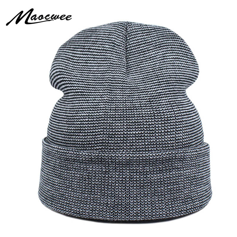 Brand Winter Green Hat for Men   Skullies     Beanies   Women Fashion Warm Ski Cap Unisex Elasticity Knit   Beanie   Hats Bones