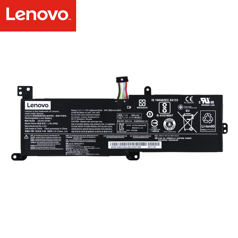 Lenovo Original Laptop Battery For Lenovo  330C-14IKB 15IKB 320C-15 15IBK 330ikb 5000 5000-15 L16S2PB2 L16C2PB2 L16L2PB2
