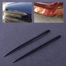 CITALL 2 шт. автомобильный Бампер протектор угловая Защита Анти-полоски от царапин наклейка углеродное волокно стиль кузова зеркало полосы защита