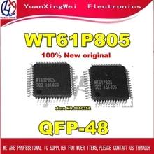 Il trasporto Libero 10pcs WT61P805 61P805 QFP 100% NUOVO
