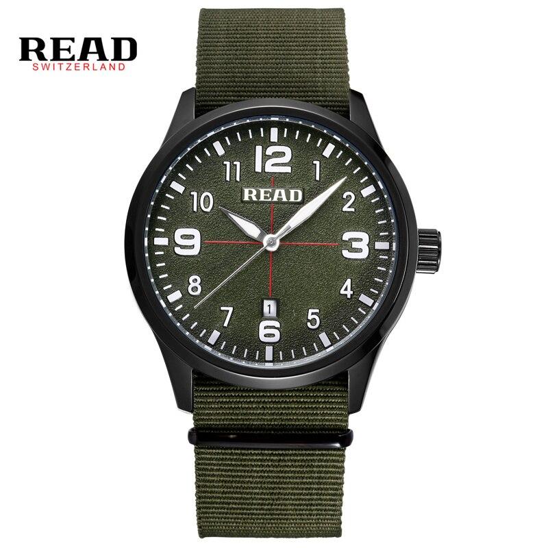 read men sports watches men 39 s quartz hour date clock man nylon strap military army waterproof. Black Bedroom Furniture Sets. Home Design Ideas