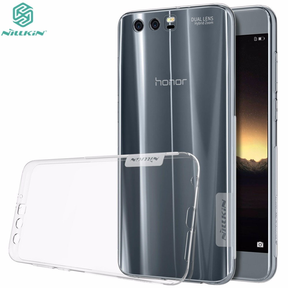 Genuine NILLKIN Huawei Honor 9 Case 5.15 inch Nature Clear TPU Transparent Soft Back Cover Case For Huawei Honor 10 Phone BagGenuine NILLKIN Huawei Honor 9 Case 5.15 inch Nature Clear TPU Transparent Soft Back Cover Case For Huawei Honor 10 Phone Bag