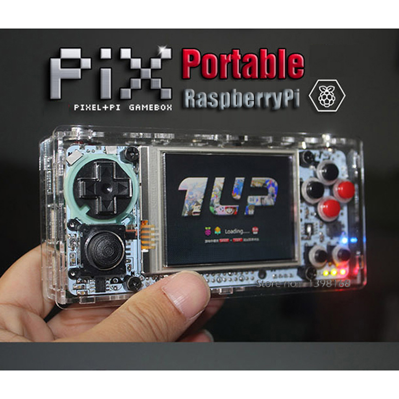 Retro pie Raspberry Pi 2 8 Inch Gameberry Retropie Lakka Handheld Gaming Device Retro Game 4000MA