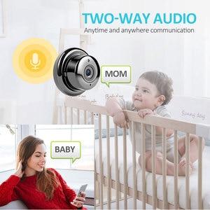Image 5 - Gran oferta 1080P Monitor de bebé cámara IP de seguridad Wi Fi inalámbrica red CCTV Mini cámara de vigilancia P2P cámara de visión nocturna