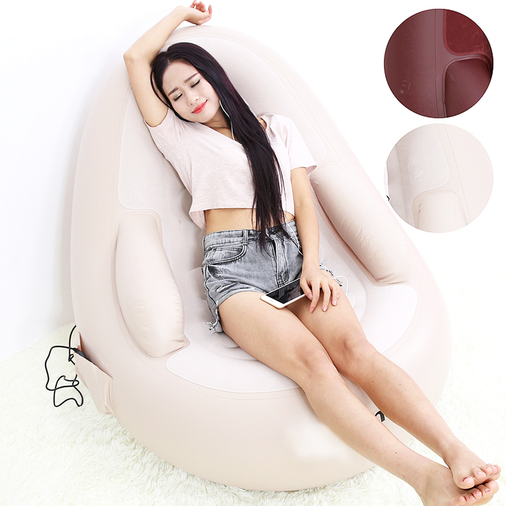 Luxury Multifunctional Electric Massage Chair, Thickened Inflatable Sofa, Designer Furniture, Powerful Home Massage Armchair 180618 3d manipulator sl type capsule massage chair home full featured automatic electric sofa chair simulated massage