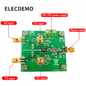 Image 2 - AD834 Four Quadrant Multiplier Module Signal Conditioning Power Control Double Frequency Multiplier 500MHz