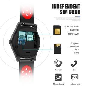 Image 3 - TF8 Smart Watch Fitness Tracker Bluetooth Sport Smartwatch Fashion Round Touch Screen Smartwatch Support Sim Memory Card