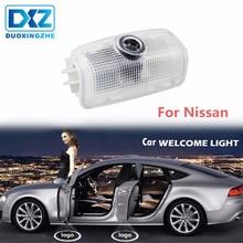 DXZ 2 pcs Porta Do Carro LEVOU Logotipo Projetor Santo Sombra Luz para Teana Nissan Patrol