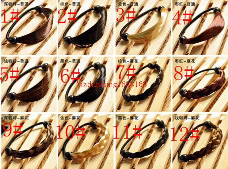 Hair Care & Styling Punctual Women Straight/braid Wig Elastic Hair Band Rope Scrunchie Ponytail Holder Top Quality Elegant In Style