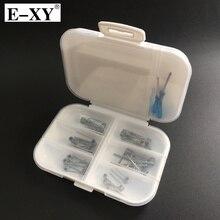 E XY DIY Prebuilt Wire 6 in 1 box Coils Clapton Clapception Cotton Fit VAPE RDA