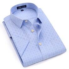 Men's Linen Short Sleeve Shirts Summer Style Men