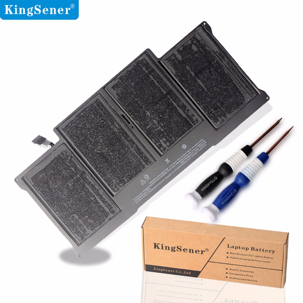 цена KingSener New Laptop Battery A1496 For Apple MacBook Air 13 A1466 2013/2014/2015 A1496 MD760LL/A MD761CH/A 7.6V 7150mAh