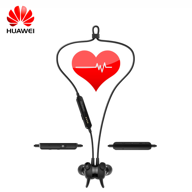 Original Huawei AM-R1 Sport Heart Rate Bluetooth Headset AptX Armature IPX5 Waterproof Mic Wireless Earphones for Android IOS пульсометр sigma sport r1 sts bluetooth nsi20328