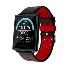 Купить с кэшбэком F8 Smart Watch Activity Tracker Waterproof Sport Bracelet Blood Pressure Heart Rate Monitor 1.44 Inch Color Screen wristband