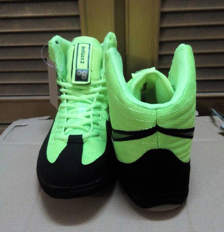 Swaps de Infligir OG Wrestling Zapatos Zapatos Entrenadores de Lucha Libre Competencia Ringer Buenas Condiciones (rulon, Kolat, Freek)
