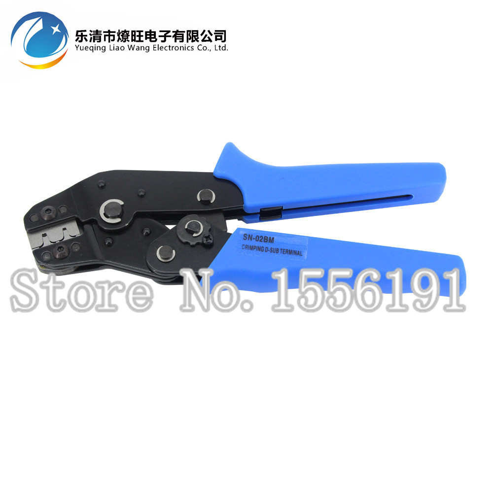 Crimping pliers SN-02BM,PH2.0 Dupont Terminal D-SUB clamp pliers,XH2.54, 28-20AWG Wire cutting mould crimping tool 0.08-0.5mm2 sn 01bm ph2 0 xh2 54 dupont sm plug terminal crimping tool crimping pliers for d sub terminals sq mm 0 08 0 5 awg28 20
