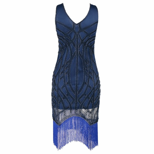New Paillette Sequins Tassel flapper dress Vest Dresses Women 1920\'s ...